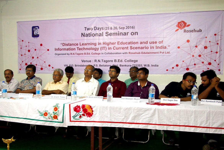 Rosehub's Seminar at RN Tagore B. Ed College
