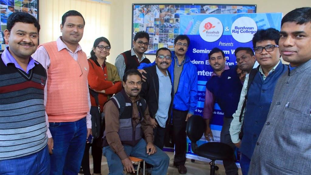 Rosehub Workshop at Burdwan Raj College