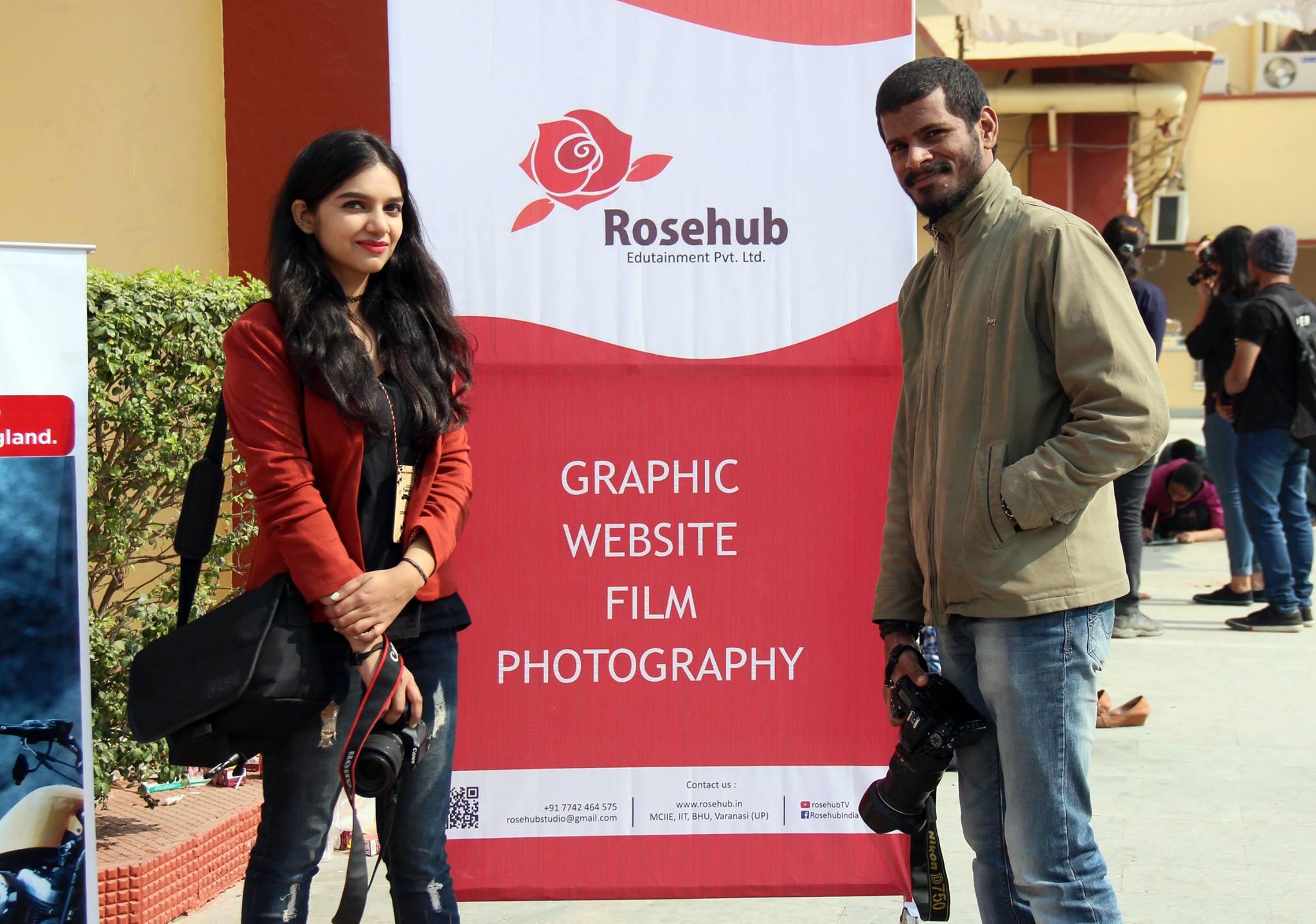 Team Rosehub at Kashiyatra'17