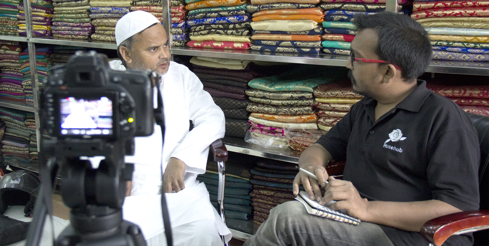 Interview with Saree Manufactures