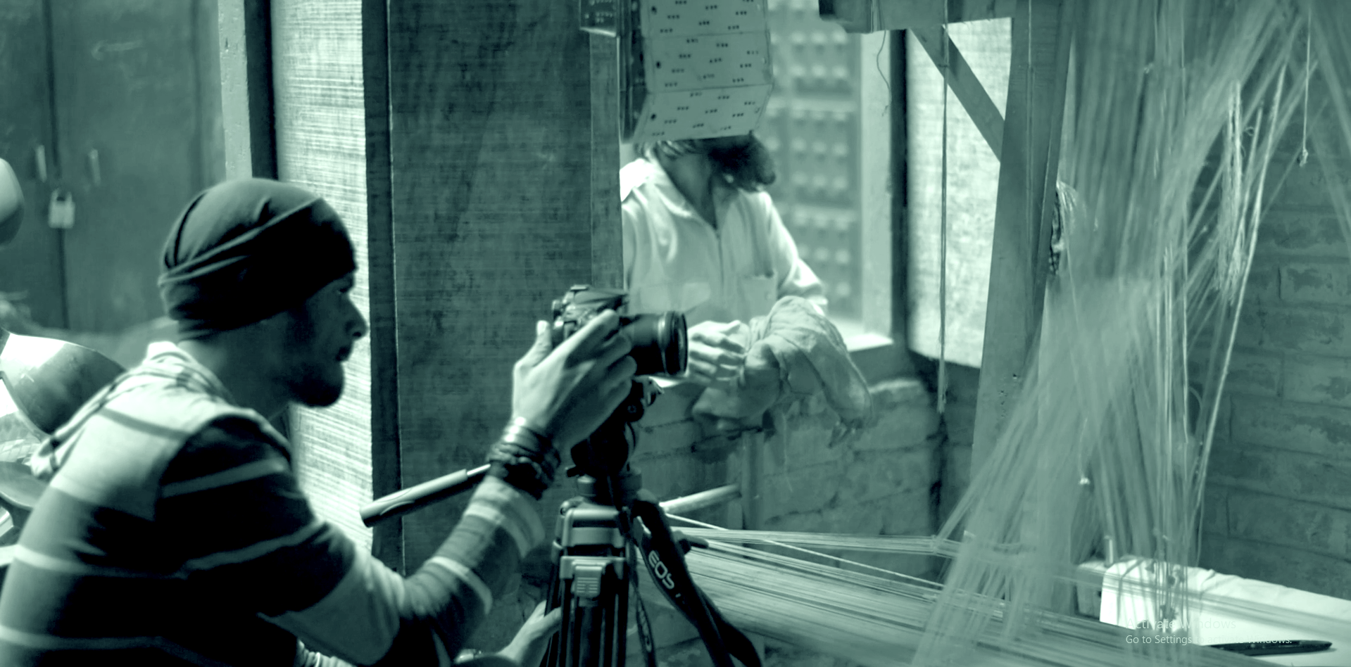 Nimit during shoot